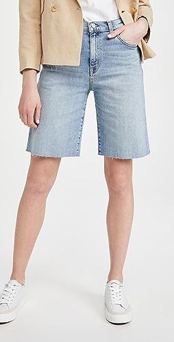 Nili Lotan - Boyfriend Bermuda Shorts