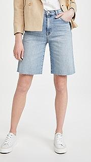 Nili Lotan 男友风格及膝短裤