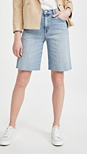 Nili Lotan Boyfriend Bermuda Shorts
