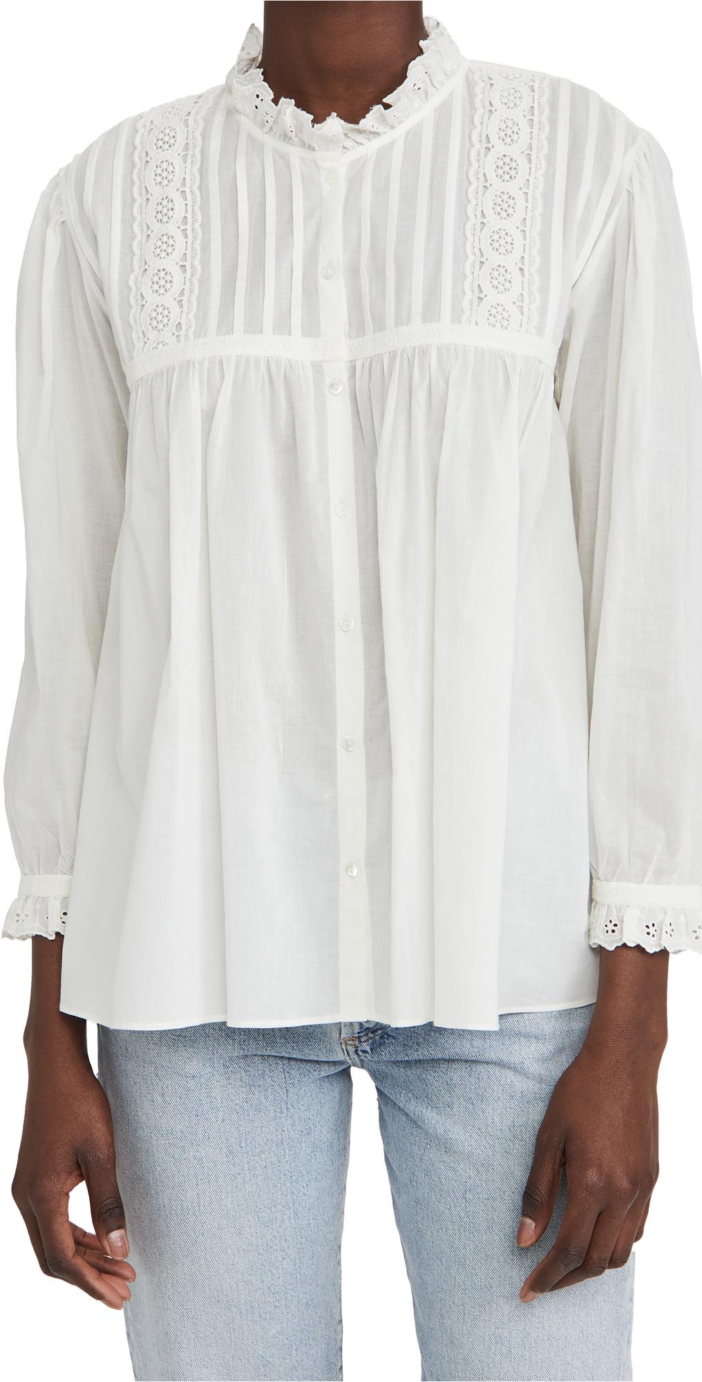 Nili Lotan Shirts SARAH SHIRT