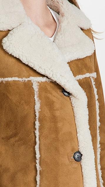 Nili Lotan Toby Shearling Coat