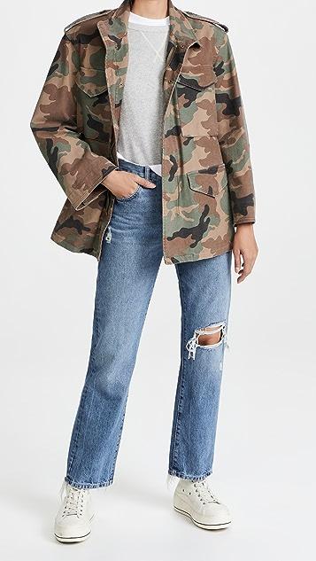 Nili Lotan Jackie Camo Army Jacket