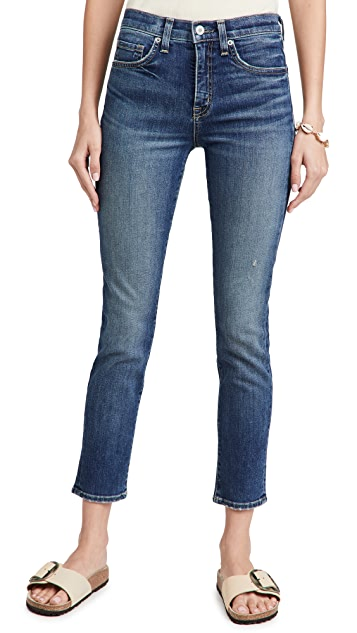 Nili Lotan Mid Rise Jeans