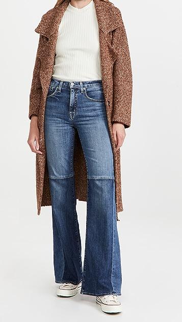 Nili Lotan Marseille Patchwork Jeans