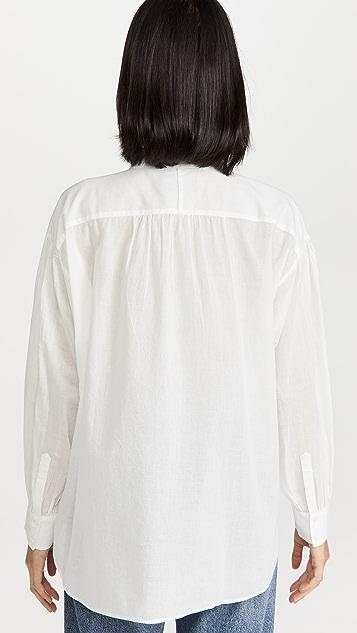 Nili Lotan Selene 刺绣上衣