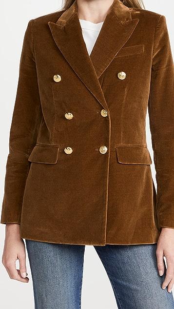 Nili Lotan Francine Velvet Jacket