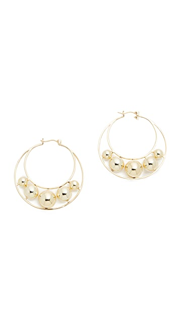 Noir Jewelry Translunar Earrings