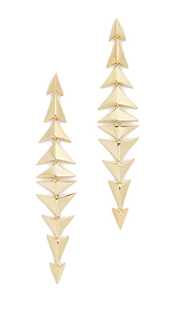 Noir Jewelry Dutchess of Cambridge Earrings