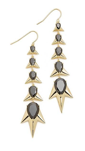 Noir Jewelry Crystalized Earrings