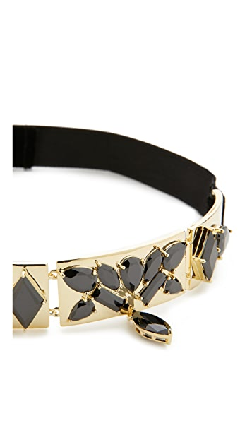 Noir Jewelry Jagged Choker Necklace