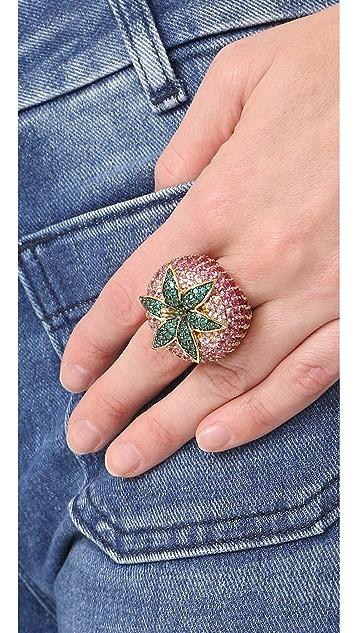 Noir Jewelry Strawberry Ring