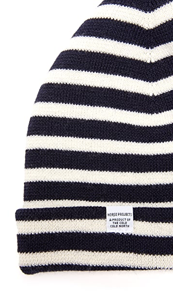 Norse Projects Classic Normandy Beanie