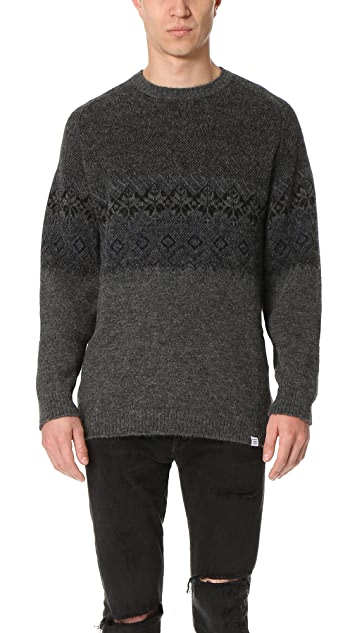 Norse Projects Birnir Fair Isle Sweater | EAST DANE Use Code ...