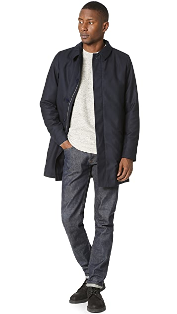 Norse Projects Thor Padded British Merino Mac