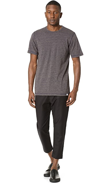 Norse Projects James Contrast Melange Tee