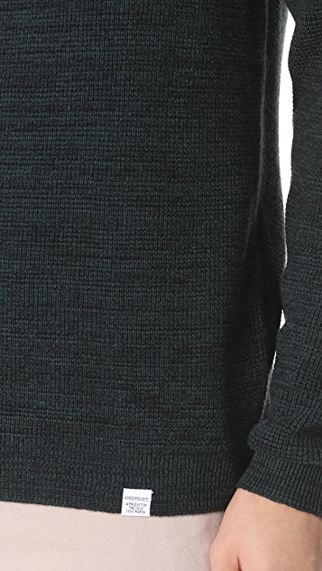 Norse Projects Lauge Waffle Sweater