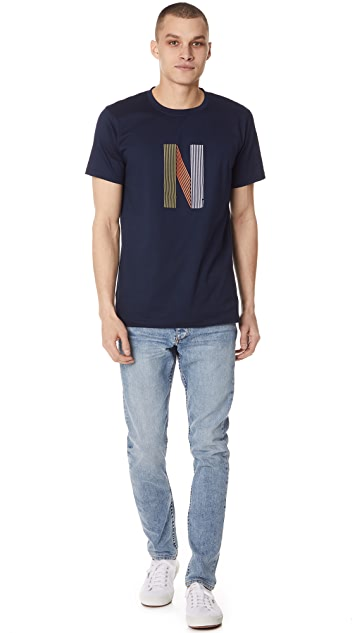 Norse Projects Niels Logo Tee