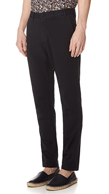 Norse Projects Aros Slim Stretch Trousers