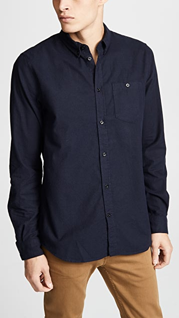 92b0db38f3a Norse Projects Anton Brushed Flannel Shirt | EAST DANE