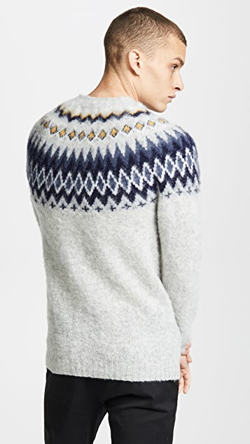 Norse Projects Birnir Fairisle Wool Sweater