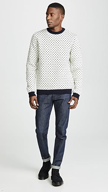 Norse Projects Sigfred Norwegian Birdseye Sweater
