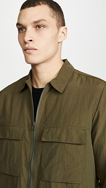 Norse Projects Jens Zip Overshirt