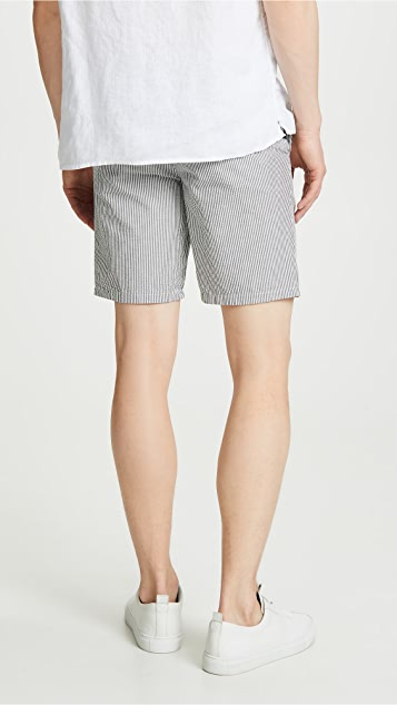 Norse Projects Aros Seersucker Shorts
