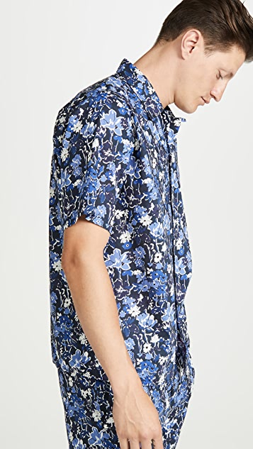 Norse Projects Carsten Liberty Print Shirt