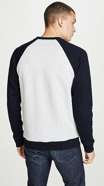 Norse Projects Ketel Contrast Long Sleeve Sweatshirt
