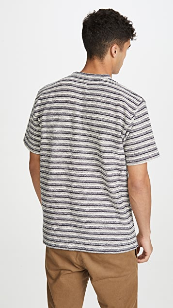 Norse Projects Johannes Textured Stripe Shirt