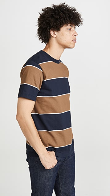 Norse Projects Johannes 3 Stripe Tee