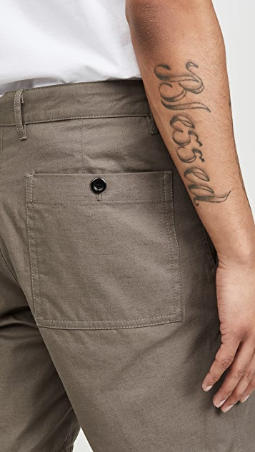 Norse Projects Joseph Cotton Linen Work Shorts