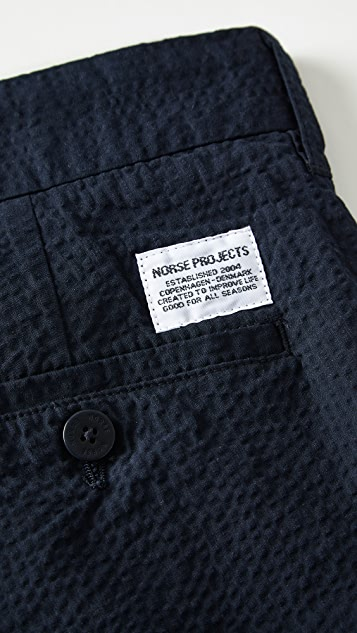 Norse Projects Aros Seeruscker Shorts