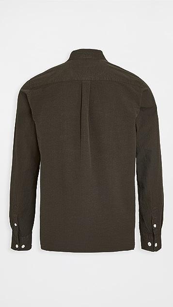 Norse Projects Thorsten Seersucker Shirt