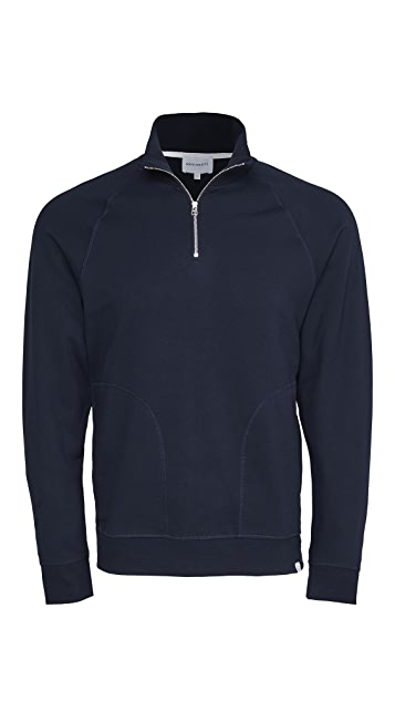 Norse Projects Alfred Light Quarter Zip Sweatshirt