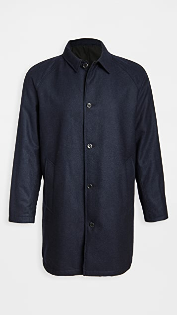 Norse Projects Svalbard Infinium Gore-Tex Wool Coat