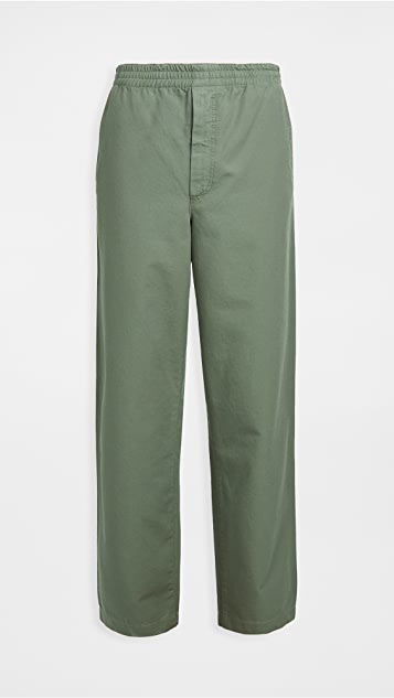 Norse Projects Evald Canvas Work Pants