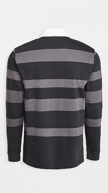Norse Projects Ruben Polo Block Stripe Shirt