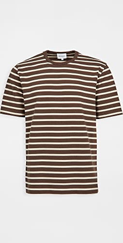Norse Projects - Holger Compact Cotton Bold Stripe Tee