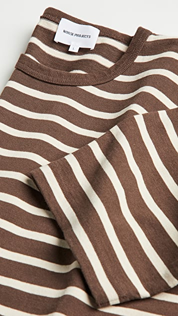 Norse Projects Holger Compact Cotton Bold Stripe Tee