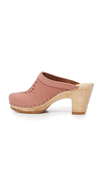 No.6 Annabel Woven Clogs