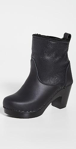 No.6 - 连毛羊皮弹性高筒靴