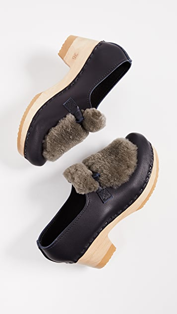 No.6 Shearling Loafers