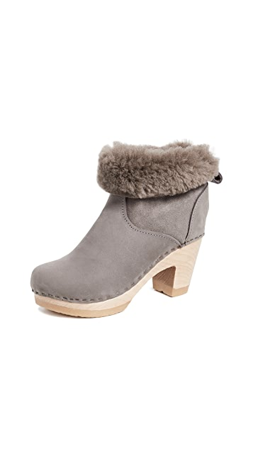 No.6 Pull On Shearling High Boots