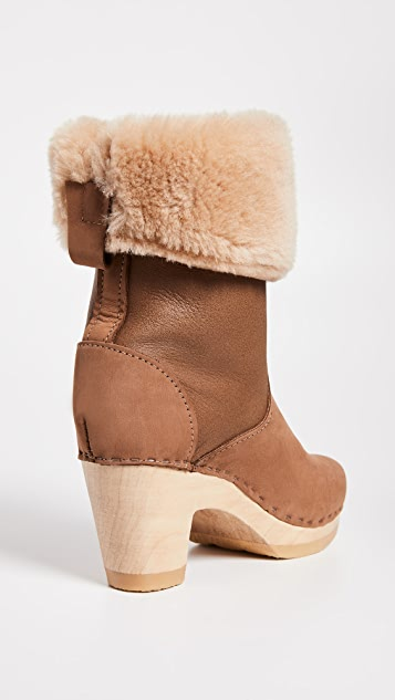No.6 Pull On Shearling High Boot