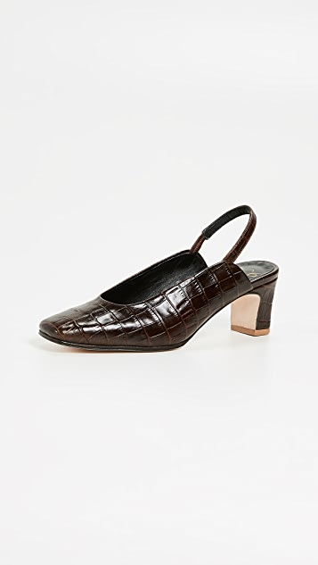 No.6 Renee Slingback Pumps