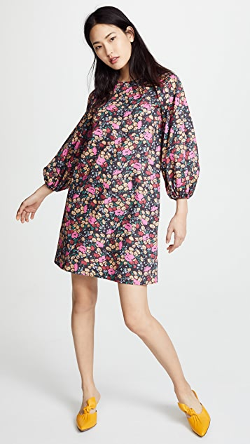 No.6 3/4 Balloon Sleeve Dress