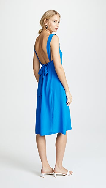 No.6 Criss Cross Back Dress