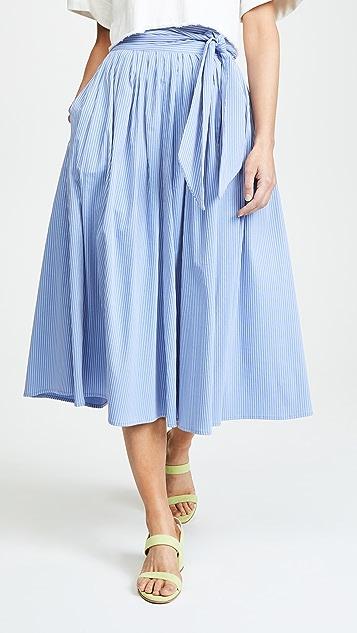 No.6 Scarlett Wrap Skirt