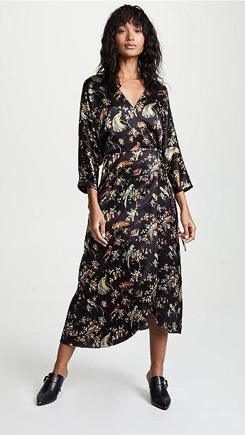 No6 Viola Wrap Dress Shopbop